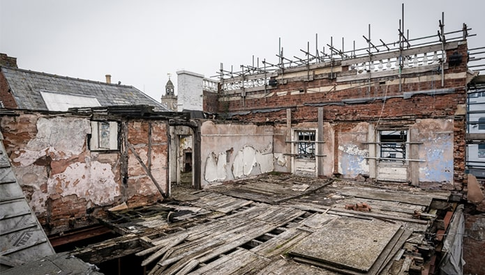 Hereford buildings destroyed by fire set to reopen as luxury development