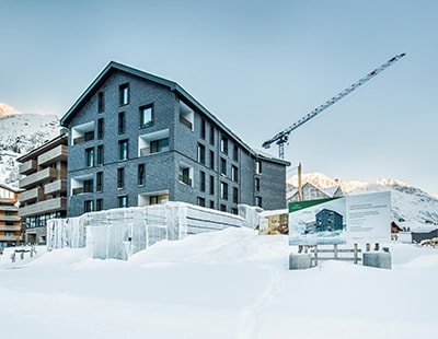 Investors drawn to the largest development in the Alps