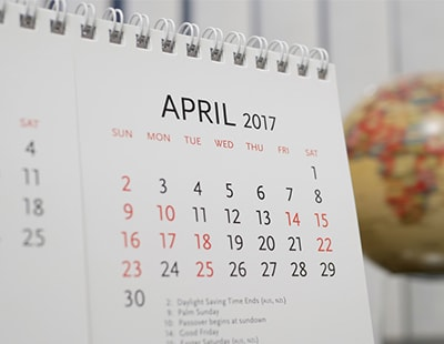 Property auction dates for April 2017