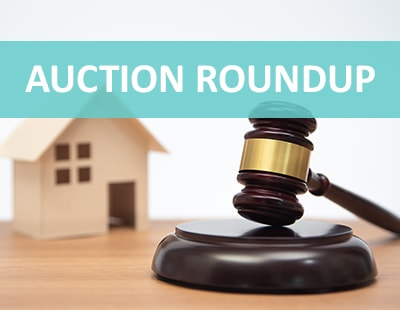 Auction roundup – high success rates and PropTech startups