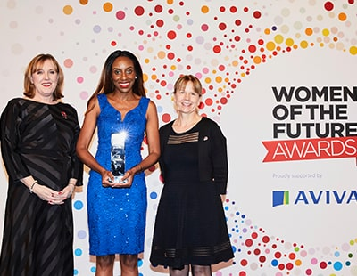 Leading entrepreneur wins Woman of the Future Award