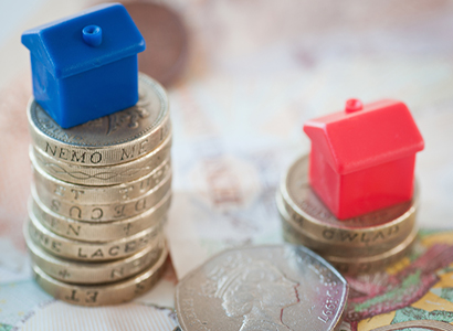 House prices in England and Wales rise at their fastest pace for 12 months