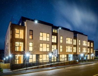 Almost gone! Only seven apartments left at Nottingham development