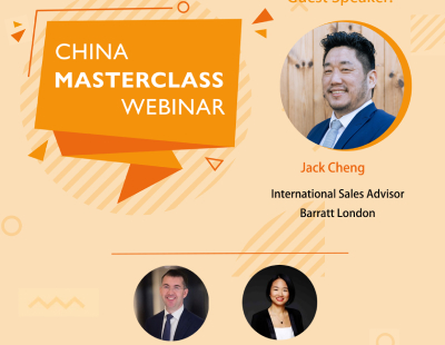 Webinar - how much UK property could the Chinese be buying this year?