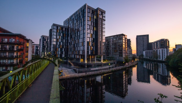 Manhattan-inspired Salford development a hit with overseas investors
