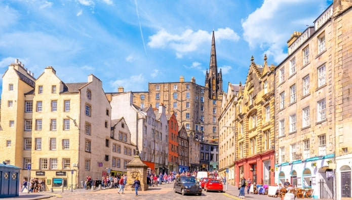 Revealed – Edinburgh's top locations for yields