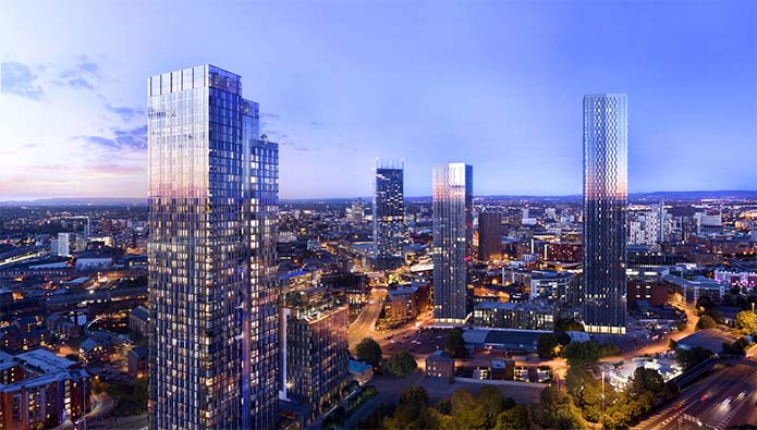 Why Manchester comes out on top for property investors
