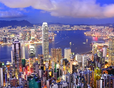 Hong Kong property sales rise sharply