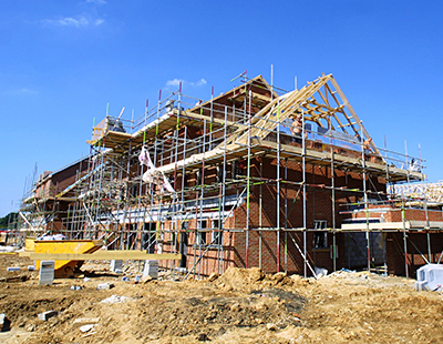 UK housebuilding robust but construction sector flags