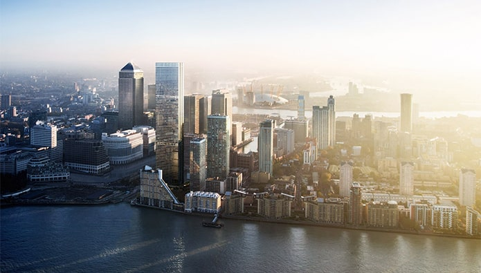 Reach for the sky – UK's tallest residential tower tops out