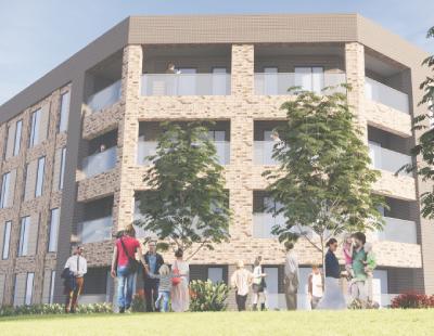 New development – go-ahead for 56 new apartments in Longbridge