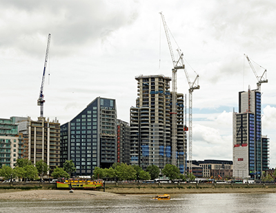 Going up! Tallest residential building in London's Zone 1 tops out
