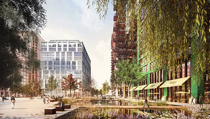 New dance-inspired show home and FTB apartments launched in Battersea