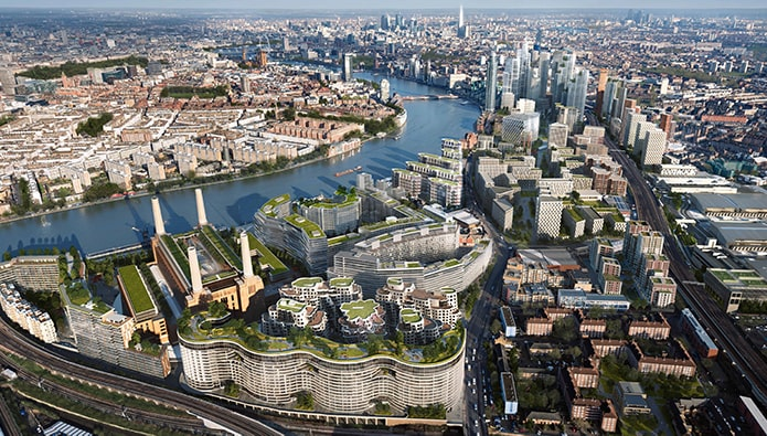 New riverside office development in the works for Nine Elms