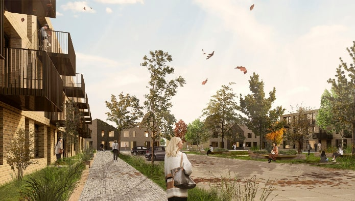 Regeneration - new images released of £1bn Purfleet-on-Thames transformation