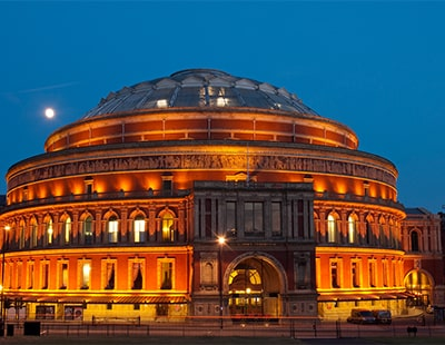Grand tier box at the royal albert hall set to be sna for Door 12 royal albert hall