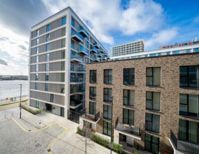 First Help to Buy homes launch at Royal Wharf riverside development