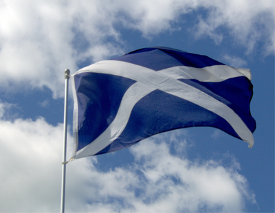 How is Scotland's property market adapting to social distancing measures?