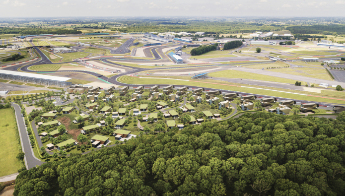 A winning investment? Development roars onto Silverstone trackside