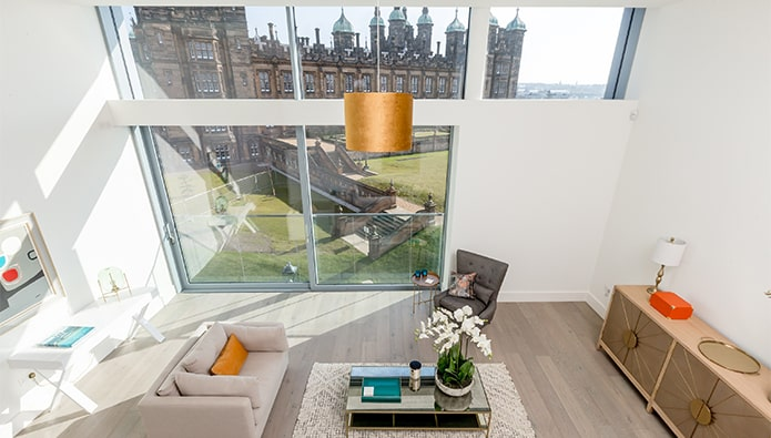 Edinburgh's most sought-after apartment now available to rent