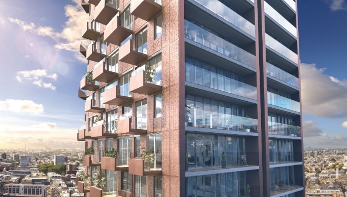 Galliard Homes records sales success with 50% of Shoreditch scheme sold