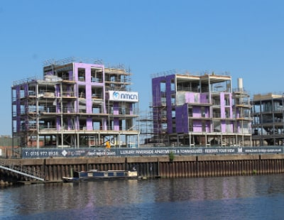 First-time buyers snap up apartments at Trent Bridge Quays