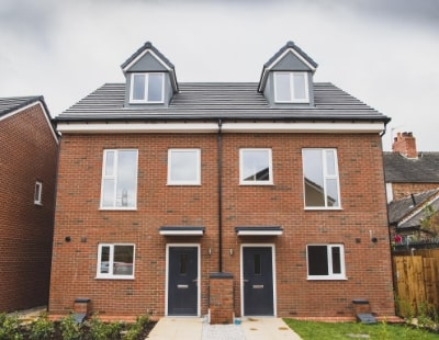 Homebuilder installs first modular homes in Stoke-on-Trent