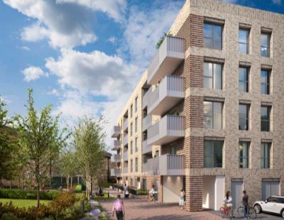 Co-living scheme, housebuilding hiatus & construction milestone