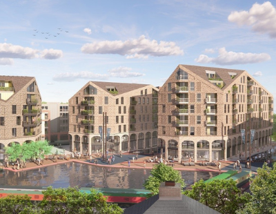 Godwin submits revised proposals for scheme in central Worcester
