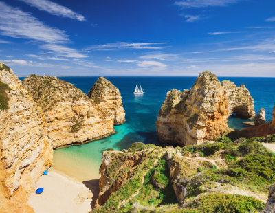 Why is Lagos in the Algarve experiencing the 'Zoom boom'?