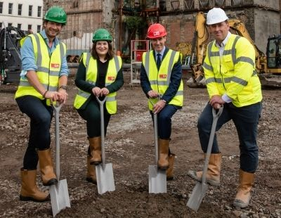 The Student Hotel - Scotland's largest 500-room hotel is on the way