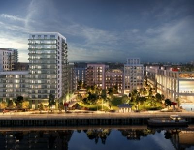 Ballymore mixed-use development in the royal docks is on the way