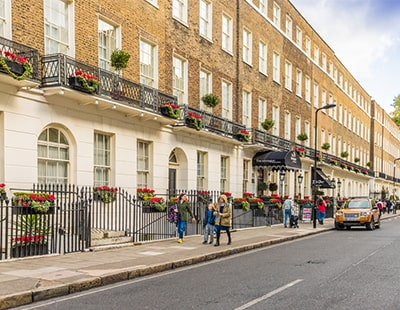 How has the prime London market fared in 2021 so far?