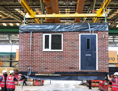 Modular update – Affordable housing scheme and wooden buildings