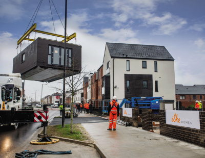 Modular roundup – zero-carbon housing and tackling homelessness
